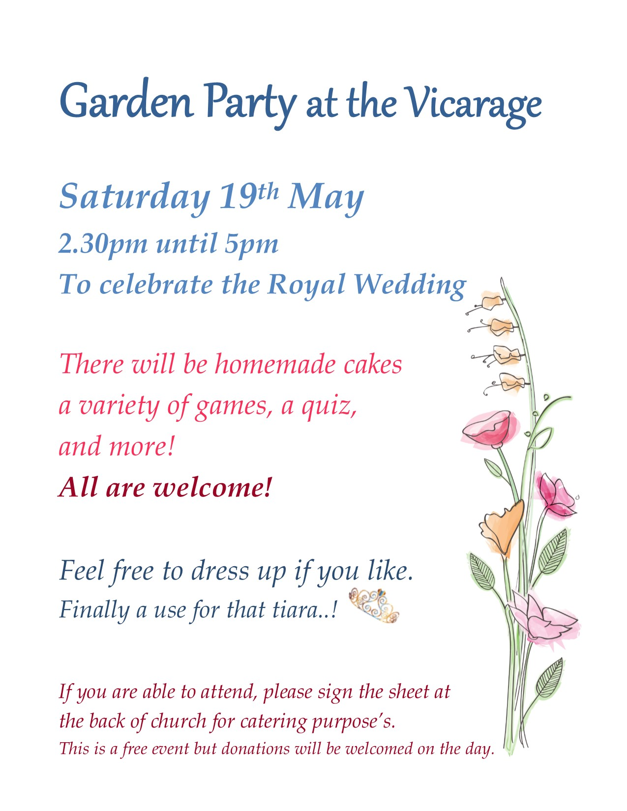 Garden party may