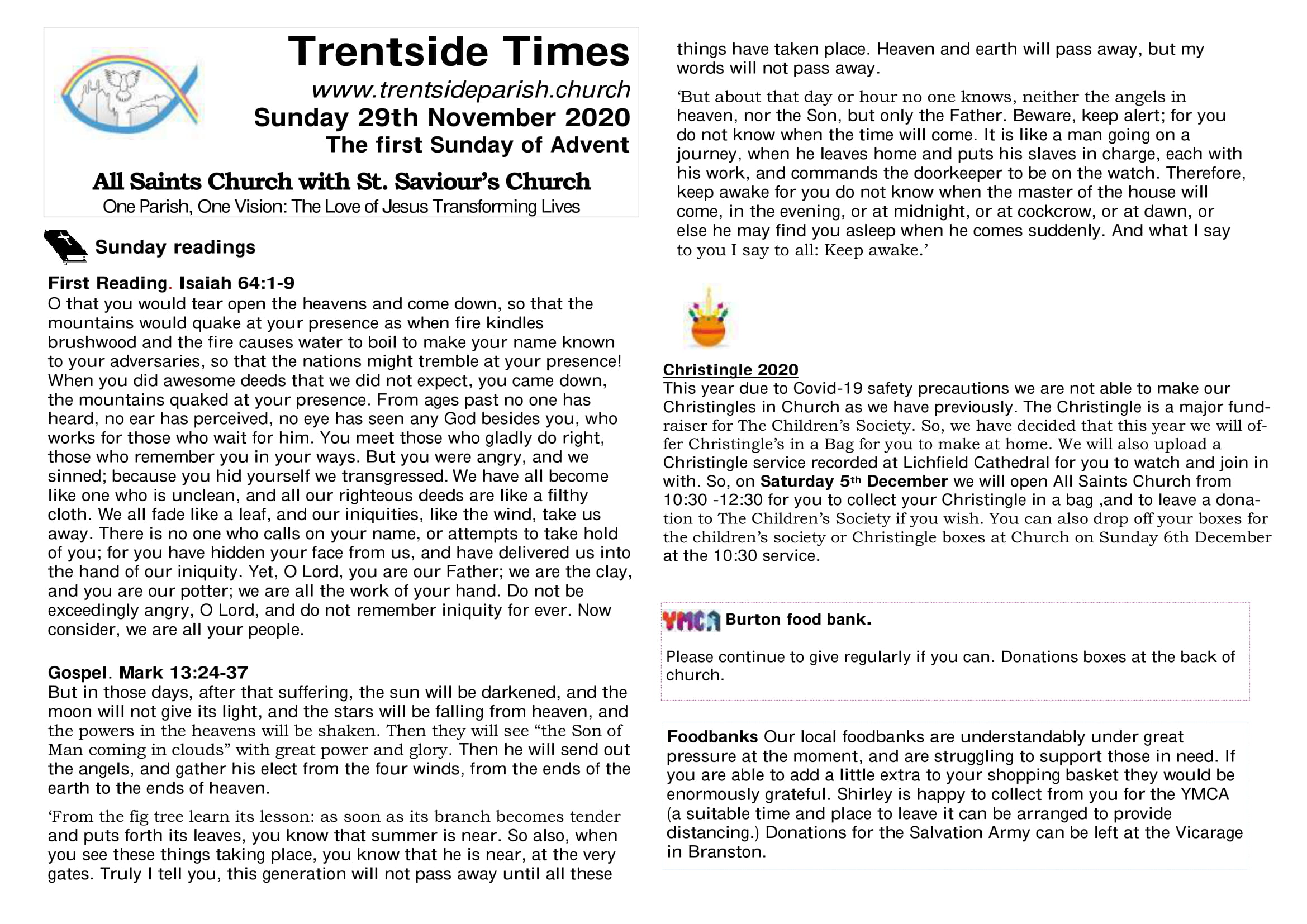 29th November Trentside Notices-page 1