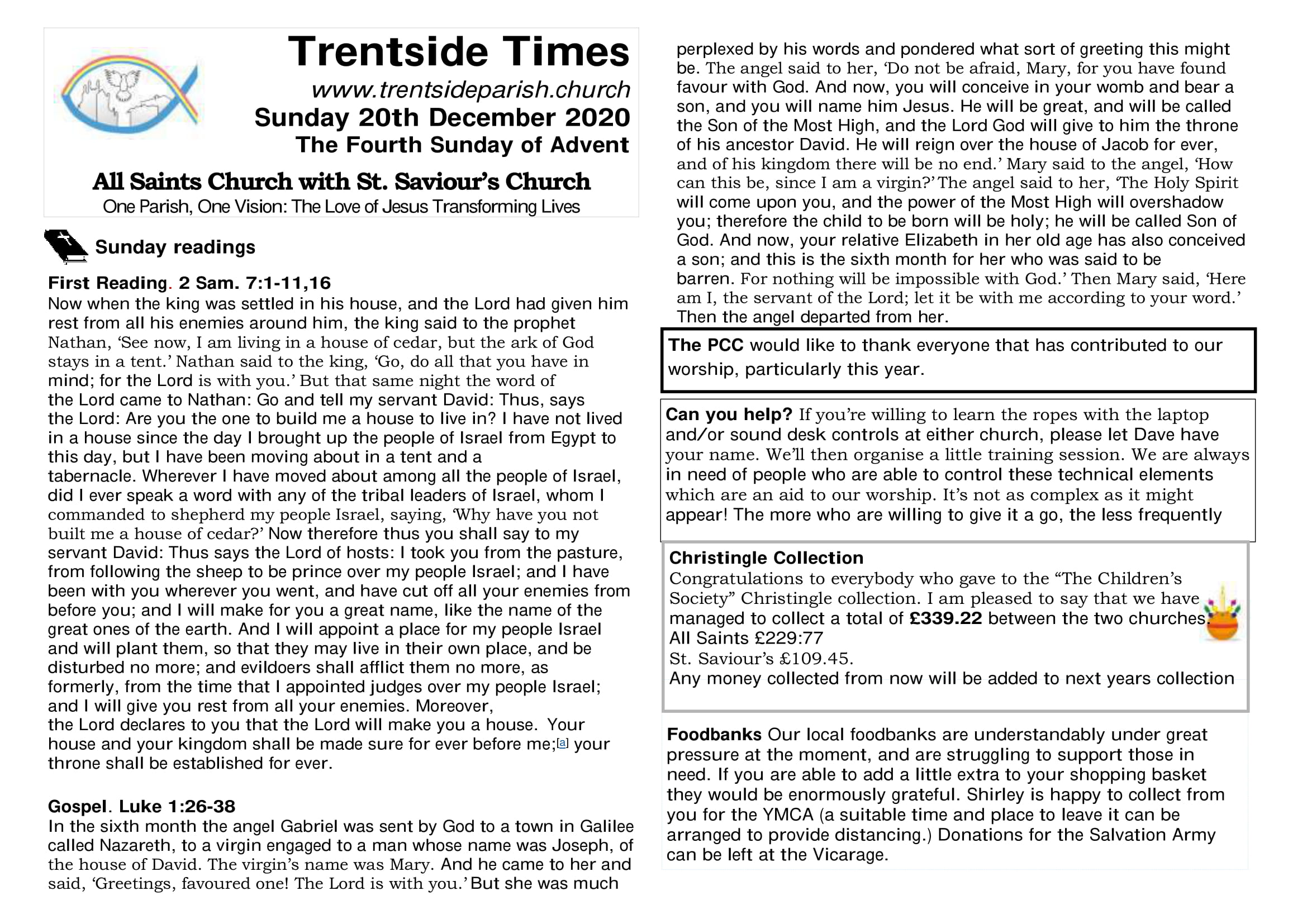 20th December Trentside Notices-page 1