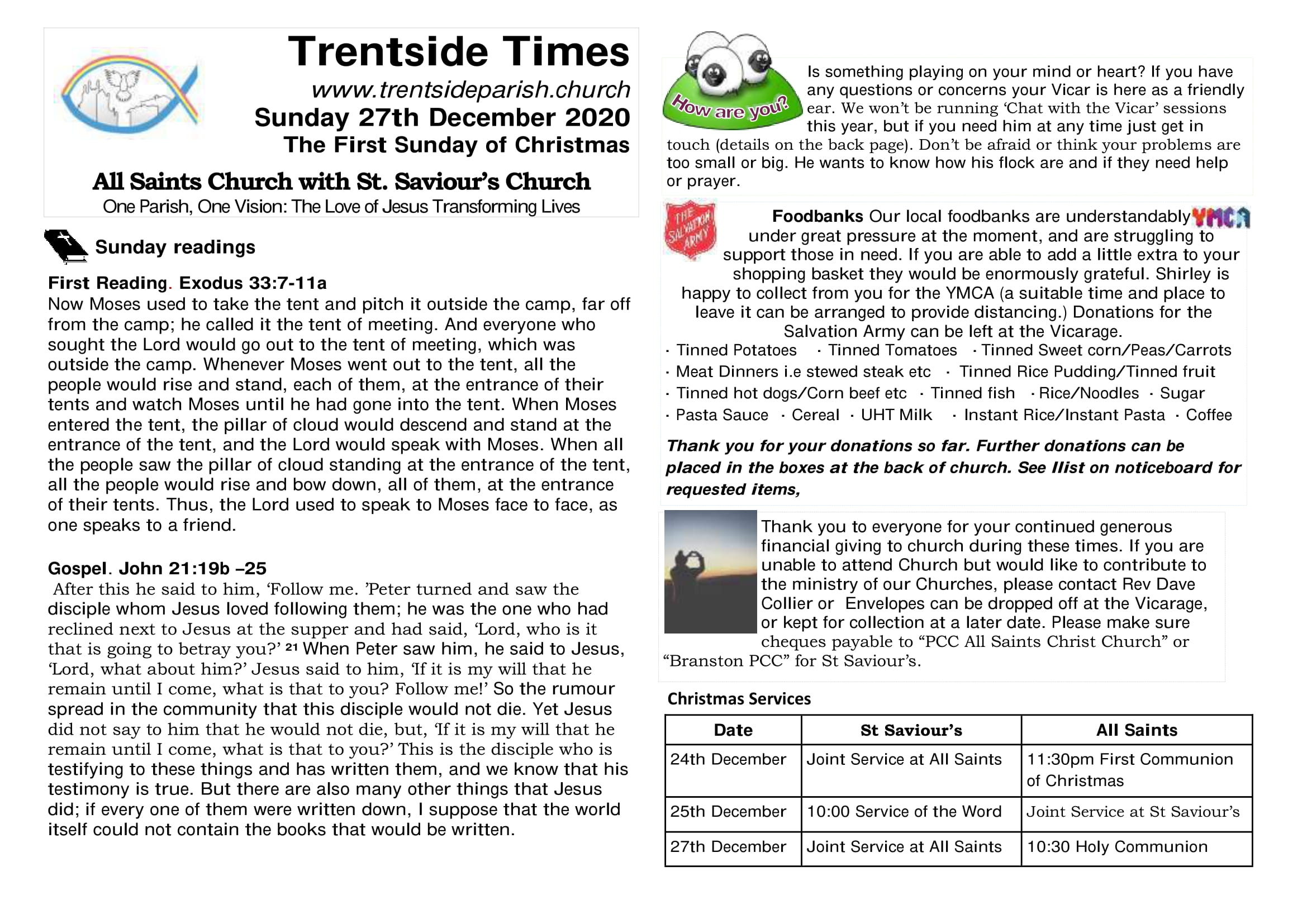27th December Trentside Notices-page 1