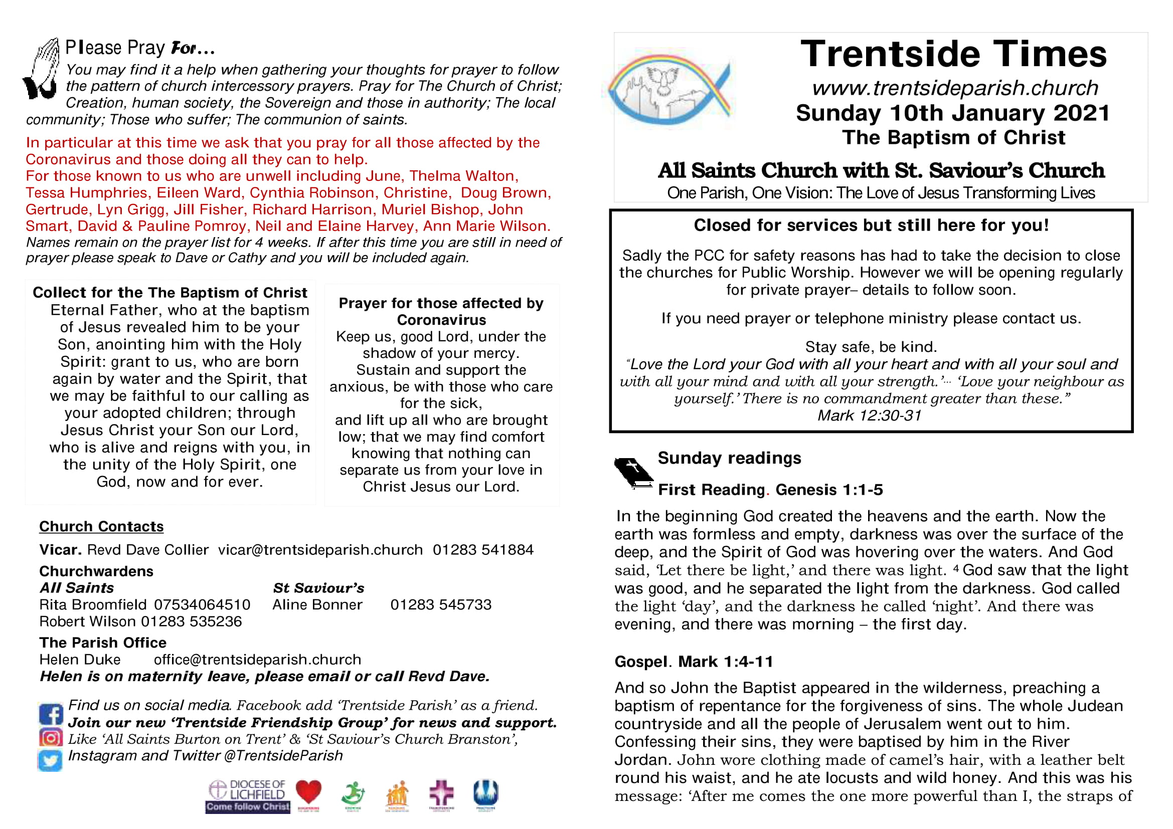 10th January 2021 Trentside Notices-compressed - page 1