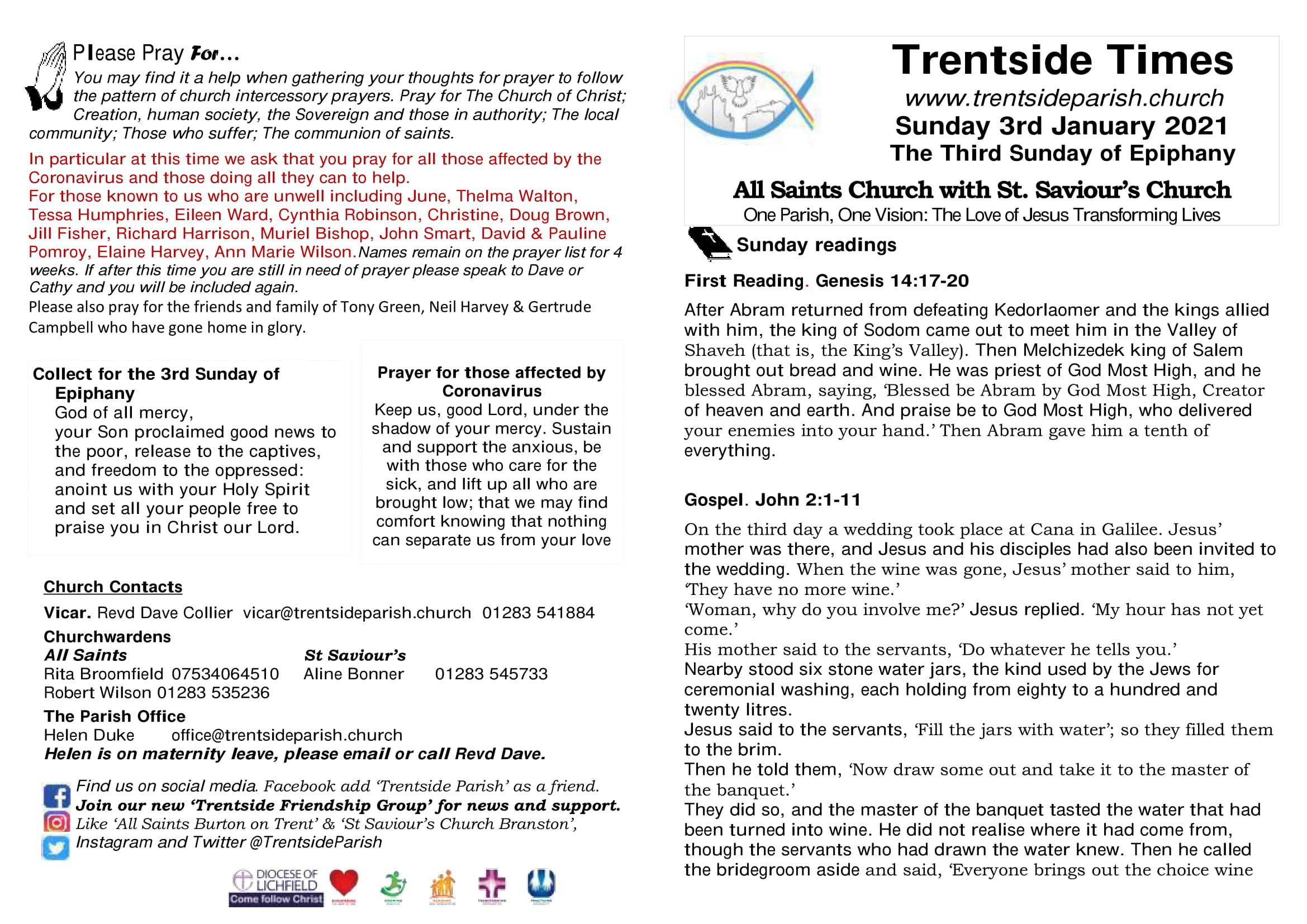 24th January 2021 Trentside Notices-page 1